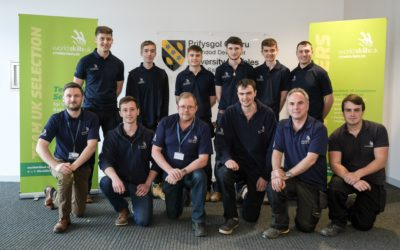 UWTSD plays host to the UK's top apprentices during National Apprenticeship Week (March 4 -8)