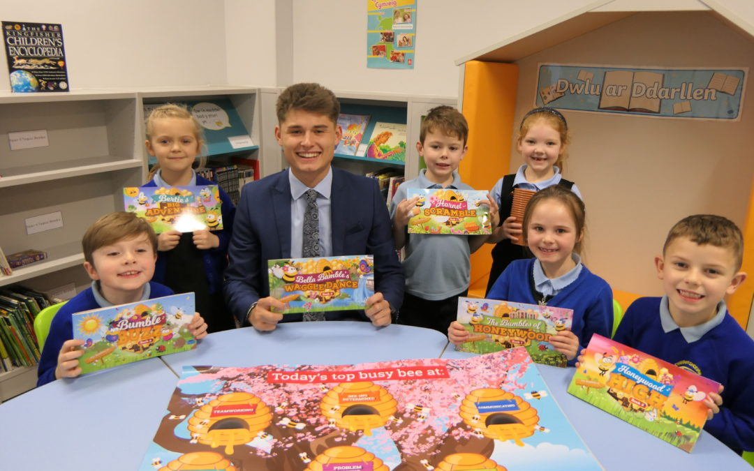 Local business backs enterprise in Swansea schools