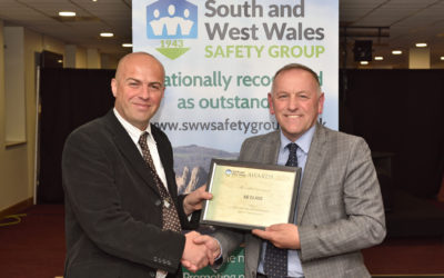 AB Glass awarded for safety performance