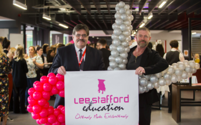 Lee Stafford Wows at Launch Event