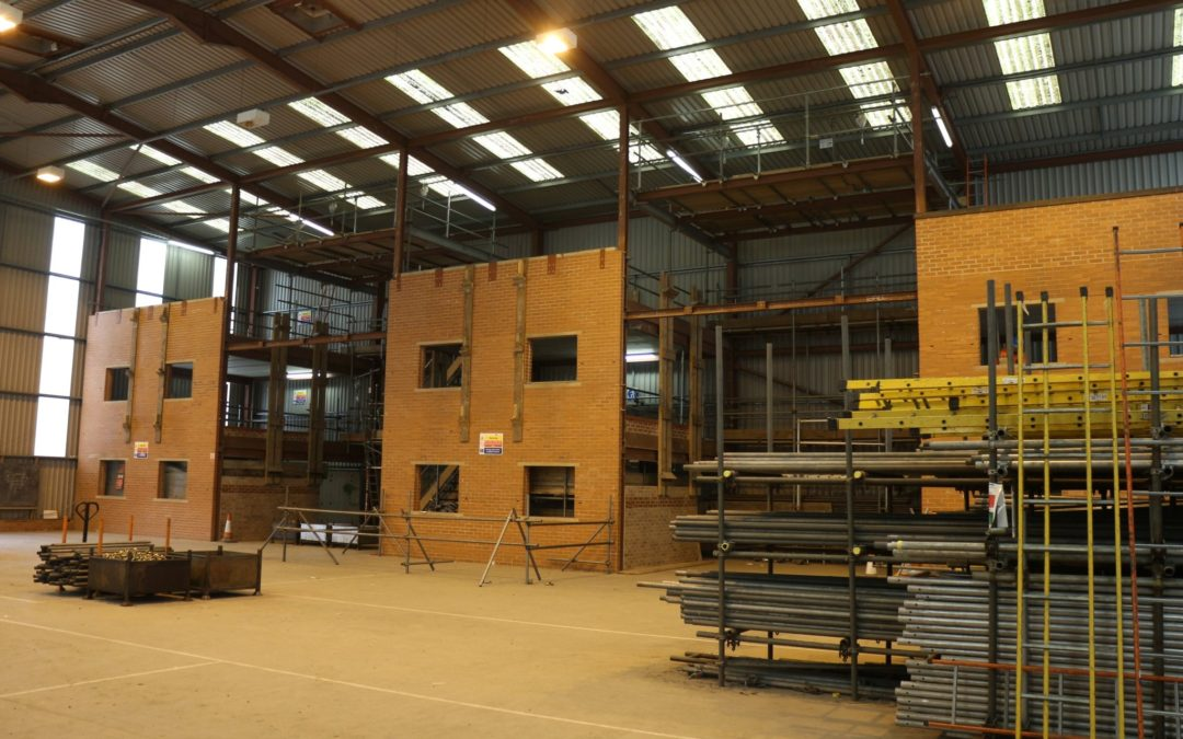New £1.5m facility means learners can stay in Wales to gain full scaffolding training