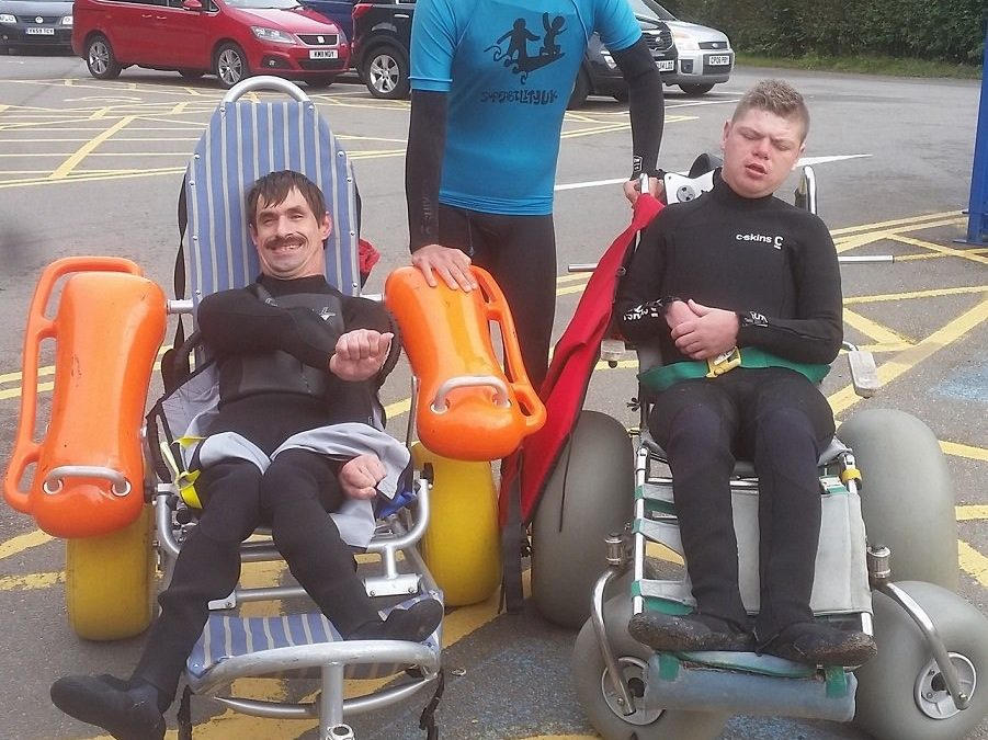 Caswell leading the way for accessible tourism