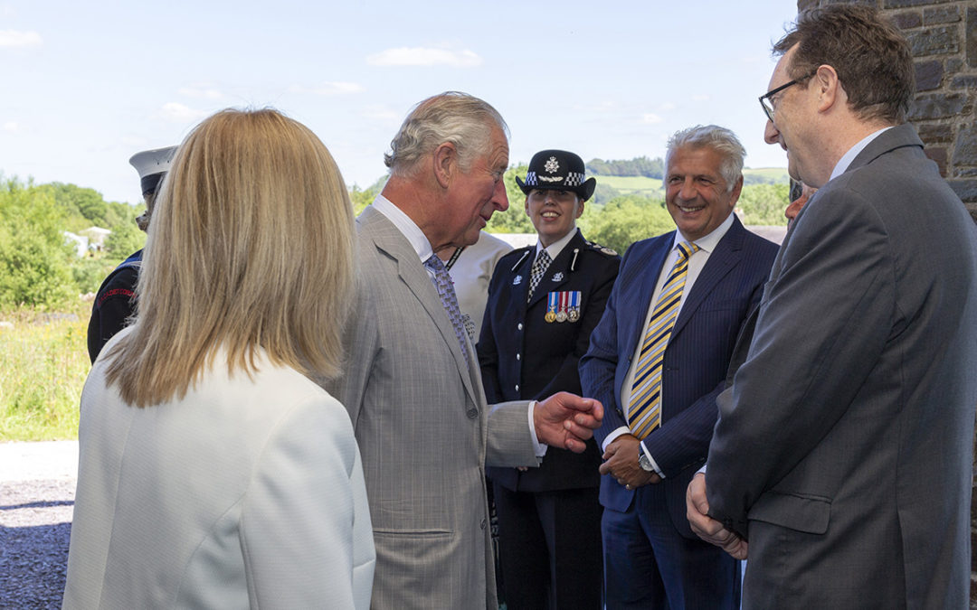 Royal praise for Garden as he urges: keep up the good work