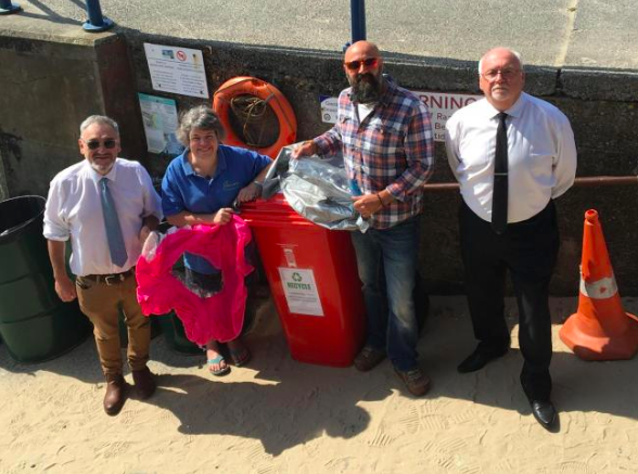 Saundersfoot Elements shop leading the charge to recycle beach waste
