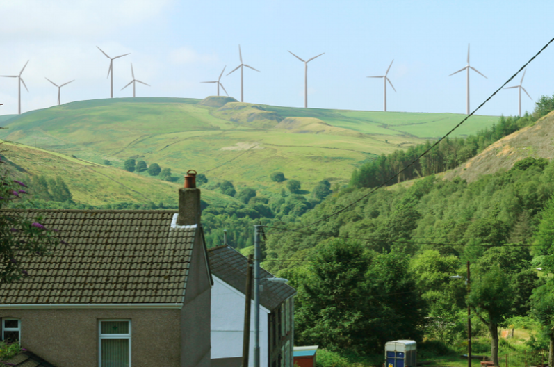 A new wind farm in Neath Port Talbot has been granted planning permission