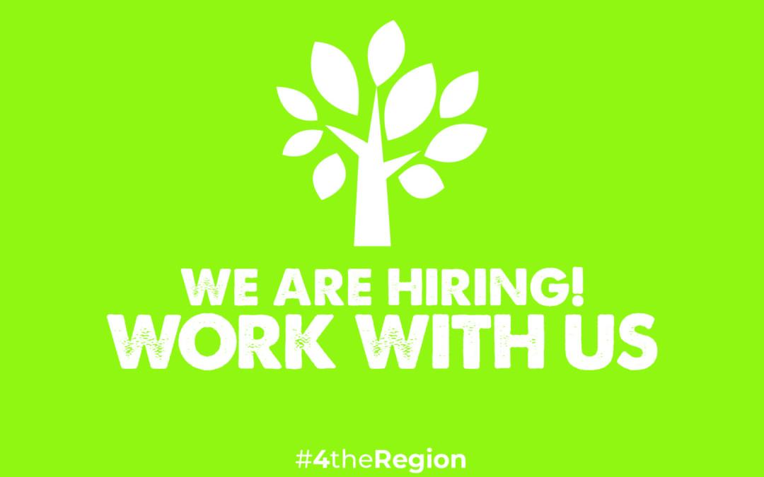 4theRegion Job Vacancy November 2019