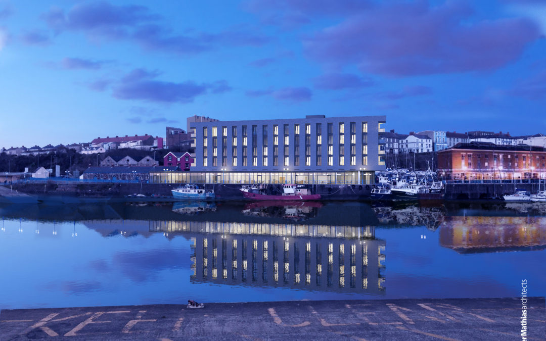 Plans submitted for a 100-bed hotel and multi-use conference and events venue at Milford Waterfront