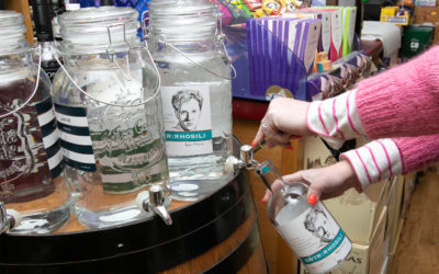 Gin Refilling Station Launches in Mumbles