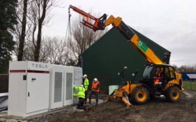Gower Power's Tesla battery arrives as more grants are awarded