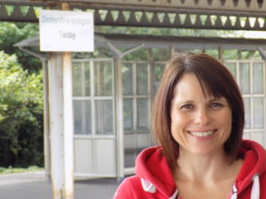 Jennifer Barfoot, Community Rail Partnership Officer for South West Wales Connected