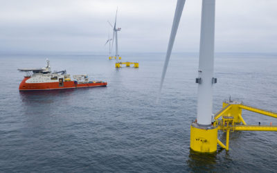Blue Gem Wind secure seabed rights for Wales' first floating offshore wind farm