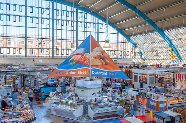 Creative agency set to re-imagine key Swansea Market zone