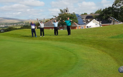 Garnant Park Golf Club – the greenest Greens in Wales!