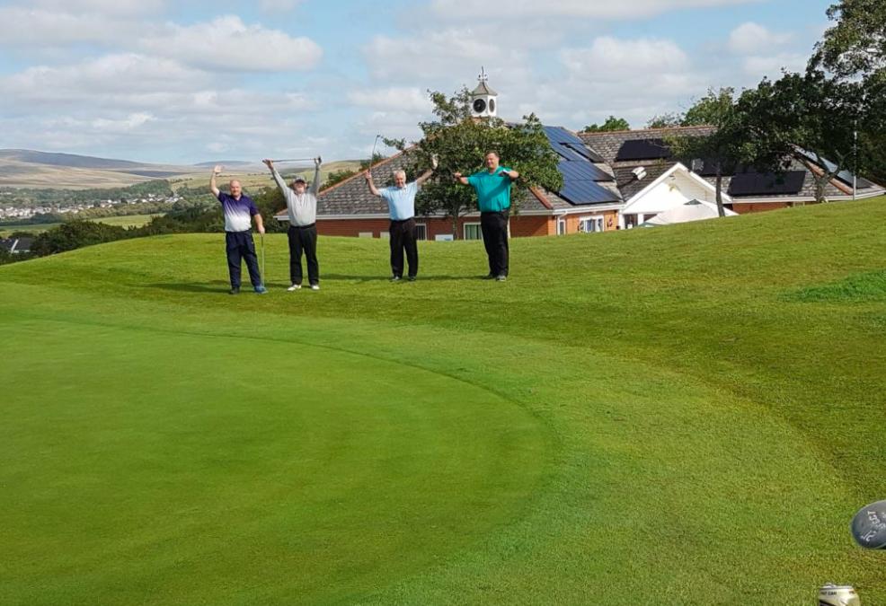 Garnant Park Golf Club – the greenest Greens in Wales!