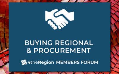 Procurement & Buying Regional | Members Forum