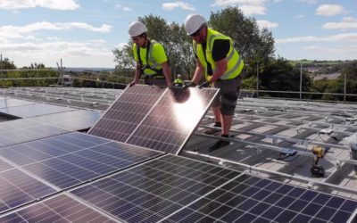 Two more Swansea schools install solar in time for Wales Climate Week…and more are on the way!