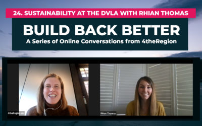 24. Sustainability at the DVLA with Rhian Thomas