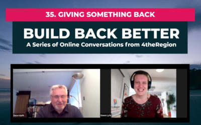 35. Giving Something Back with Dave Kieft