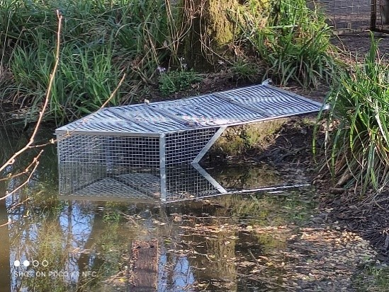 Angling infrastructure work in the South West