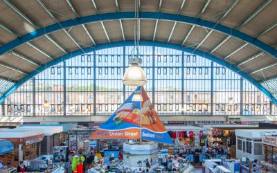 A-grade success for energy-efficient Swansea Market