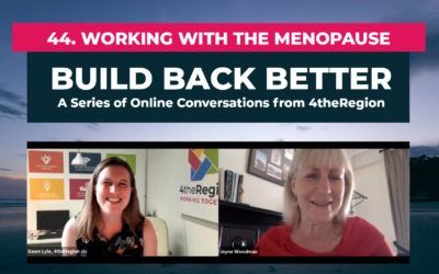 44. Working with the Menopause with Jayne Woodman