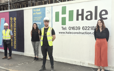 J.G. Hale Construction supports South West Wales Onsite Hub
