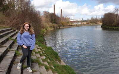 Young volunteers help city's old copperworks stories live on