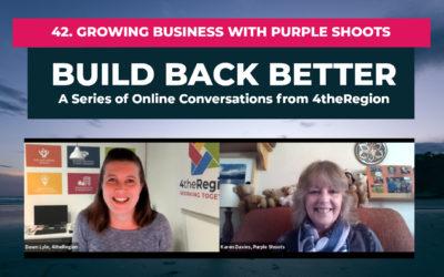 42. Growing Business with Purple Shoots ft. Karen Davies