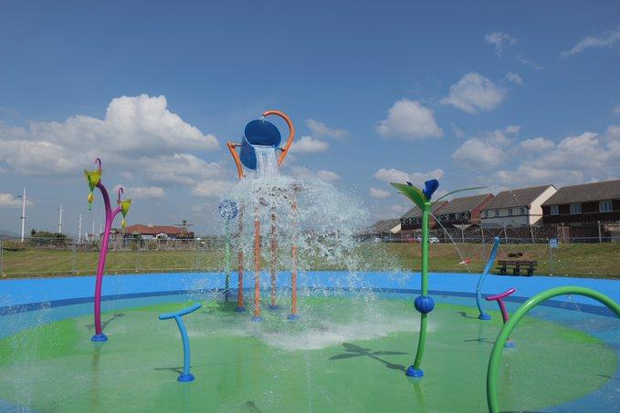 The all new Aqua Splash to open at Aberavon Beach on Monday