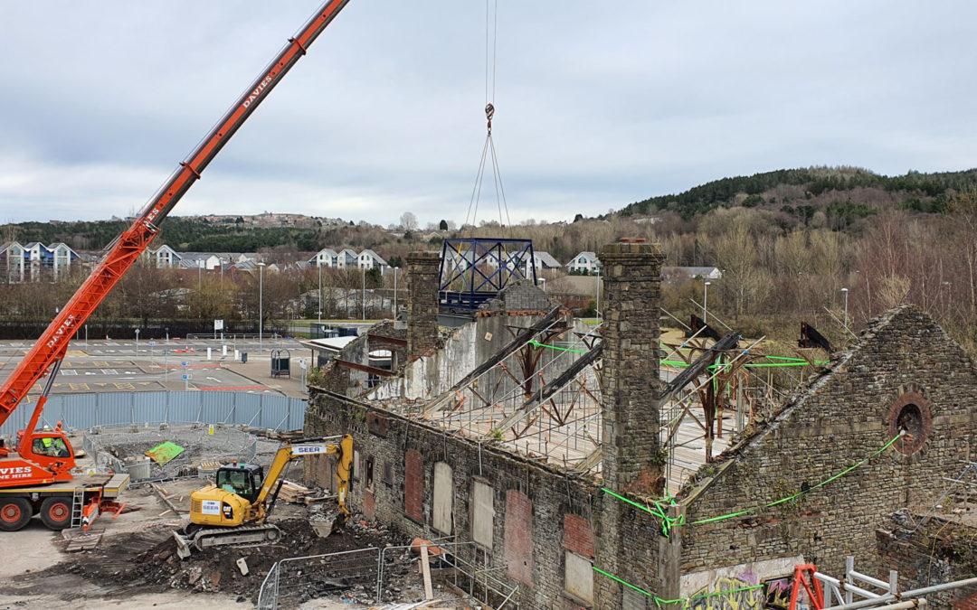 Work progresses on historic site