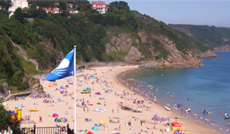 Welsh bathing waters top destination this summer