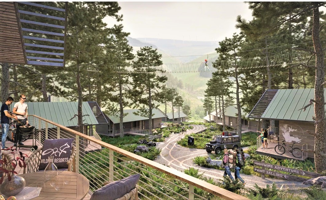 Go ahead for new team to deliver transformational Afan Valley resort